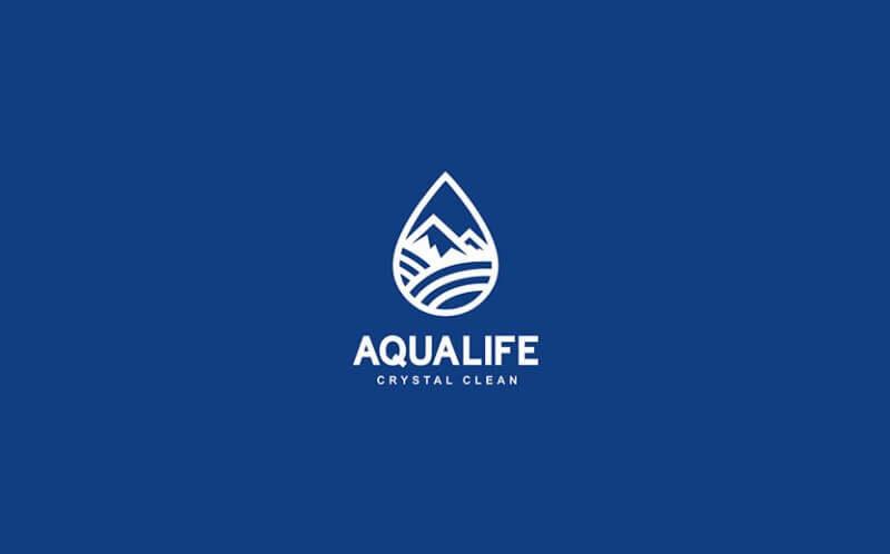 飲料会社のロゴ