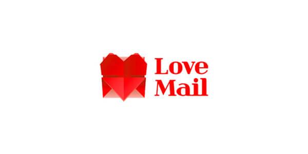 折り紙風のロゴデザイン