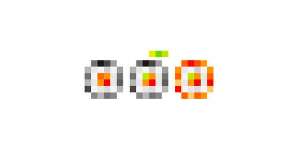 巻き寿司のロゴマーク