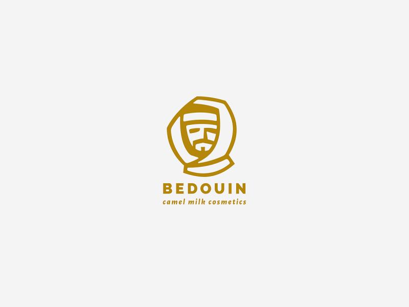 ラクダのミルク化粧品のロゴデザイン