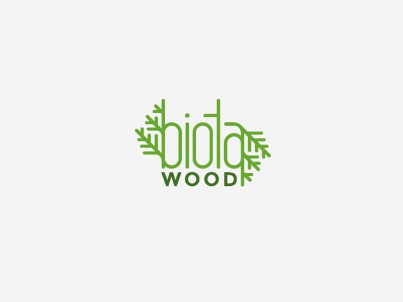 林業関係のロゴデザイン