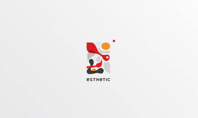 画廊のロゴ制作例3