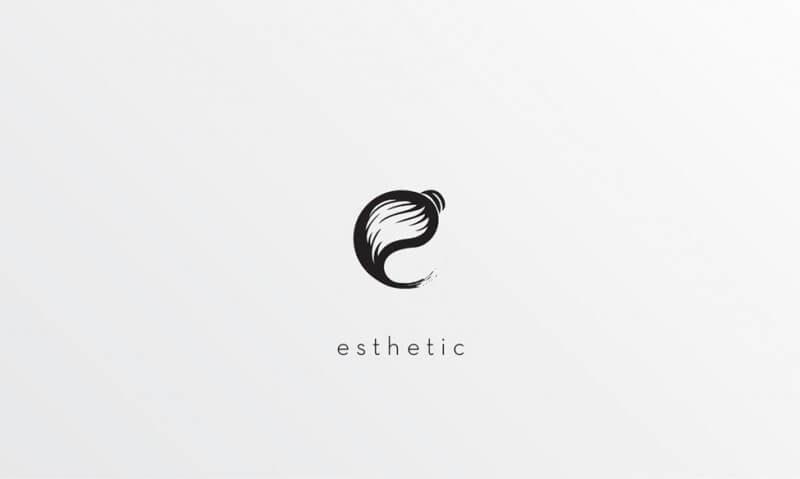 画廊のロゴ制作例