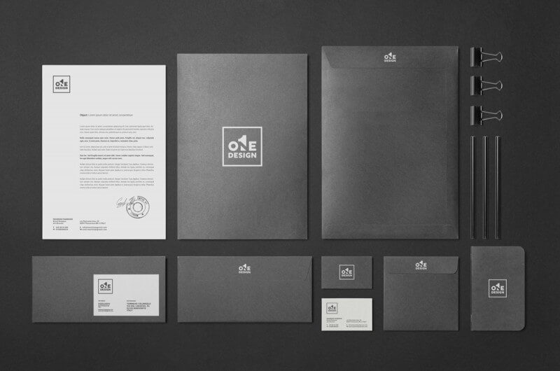 デザイン事務所のロゴ制作例