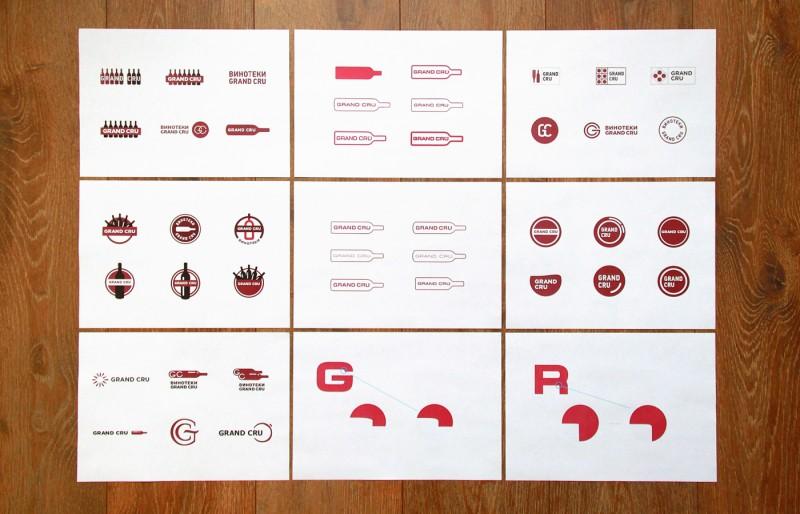 多くのロゴ提案
