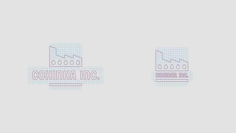 工場をモチーフにしたロゴデザイン
