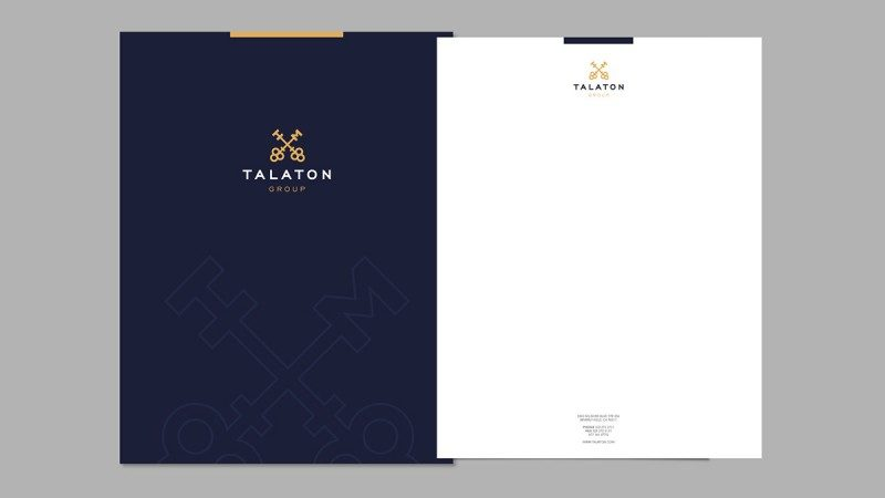 書類デザイン作成例