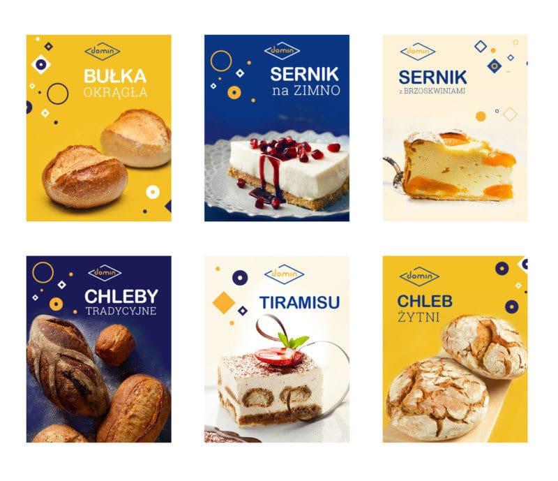 ベーカリーの広告デザイン