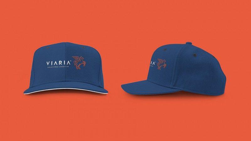会社の帽子製作例