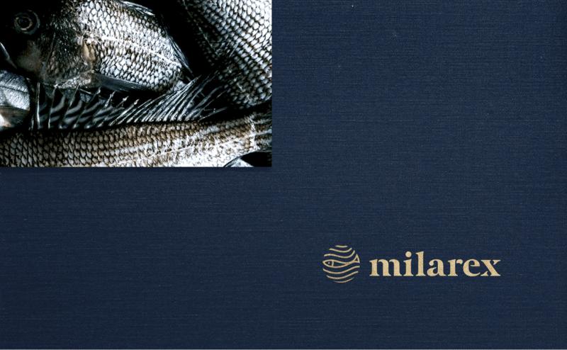 水産加工業の企業ロゴデザイン