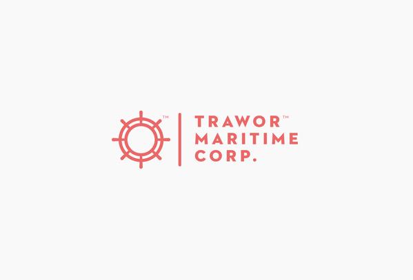 海運会社のロゴデザイン