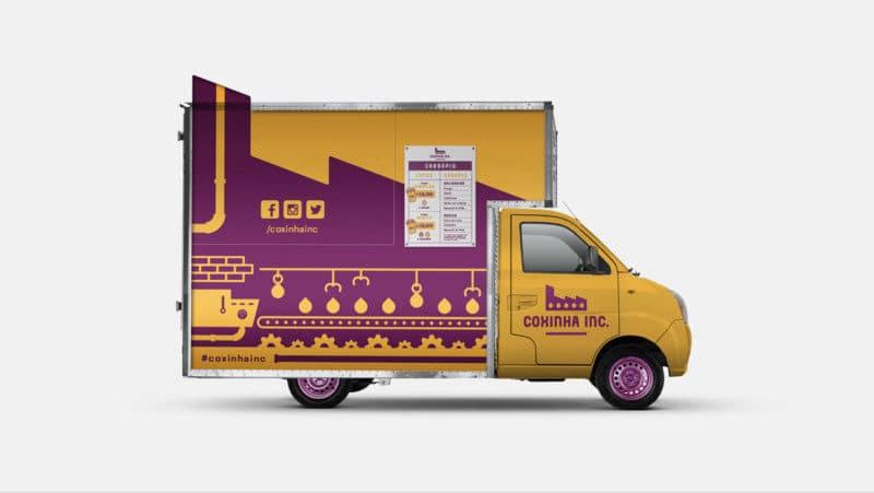 フードトラックのデザイン
