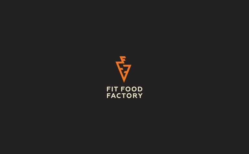 食品ブランドのロゴ作成例