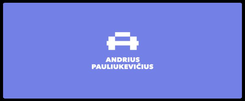 Aとダンベルを組み合わせたロゴ