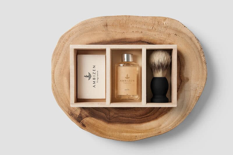 香水のパッケージデザイン