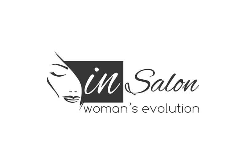 美容室のロゴ作成例