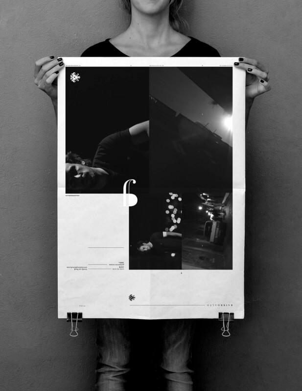 アパレルブランドのポスターデザイン制作例