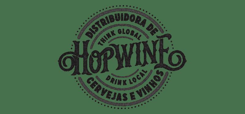 ホップワインのロゴデザイン
