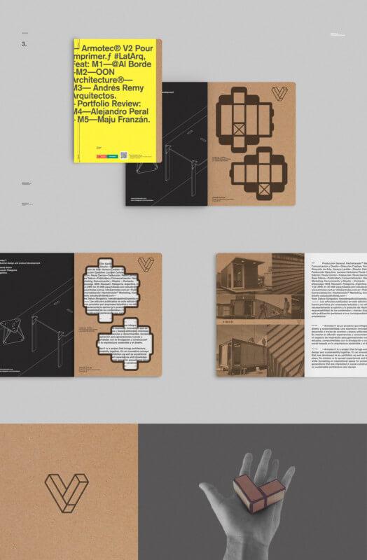 企業のパンフレットデザイン