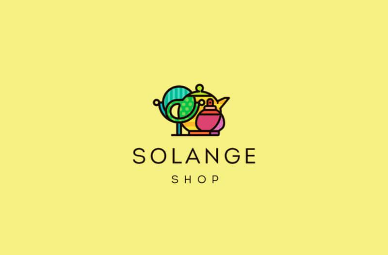 雑貨店のロゴデザイン
