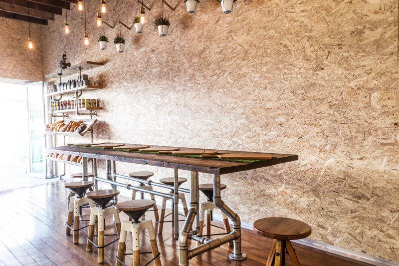 カフェのインテリアデザイン3