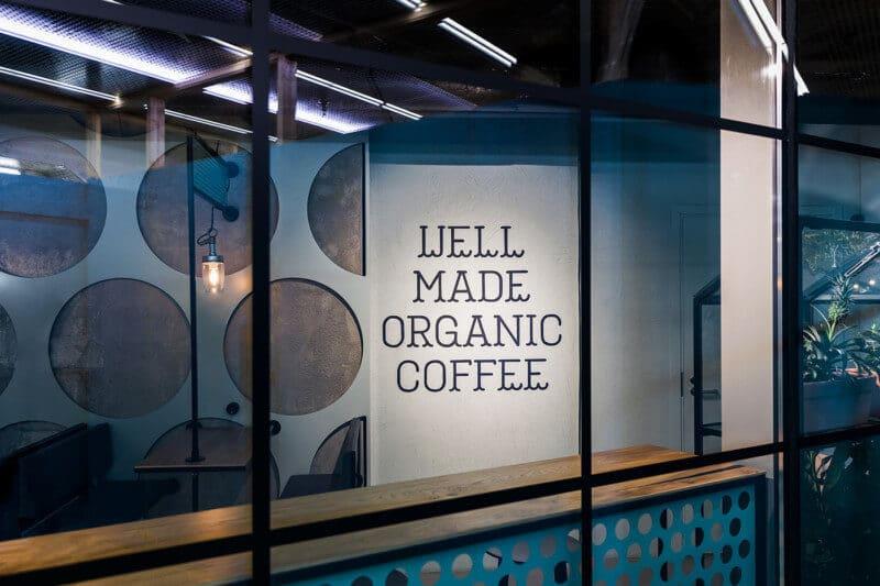 カフェの外観デザイン