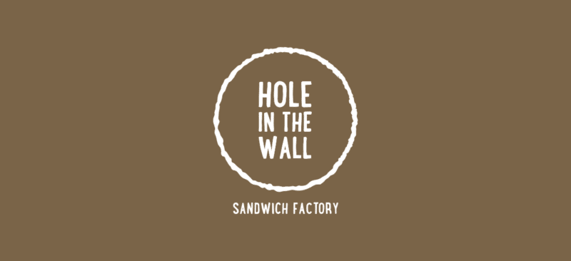 サンドイッチカフェのロゴデザイン
