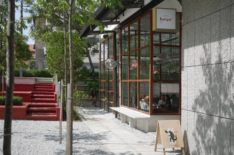レストランの外観デザイン