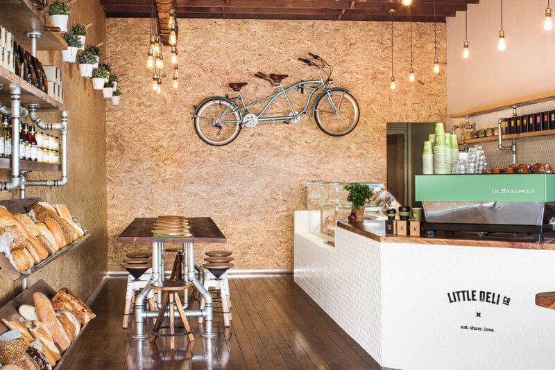 カフェのインテリアデザイン2