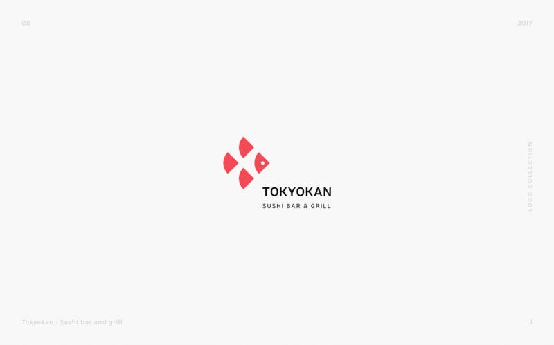 和食レストランのロゴデザイン