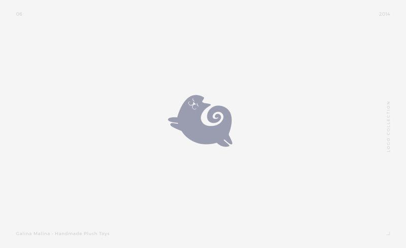 猫をモチーフにしたロゴデザイン