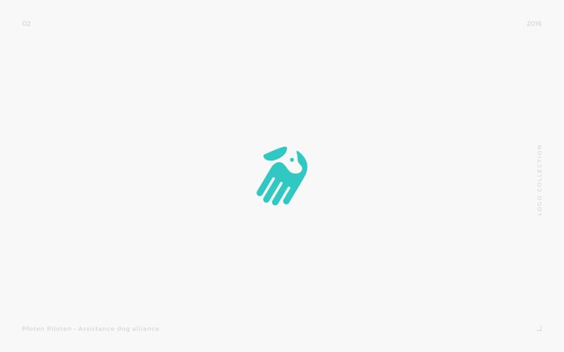 身体障害者補助犬の育成機関のロゴデザイン