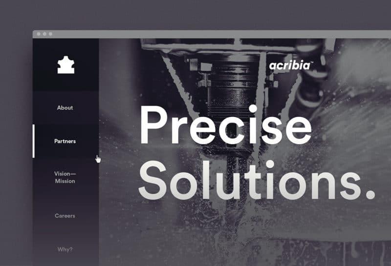 企業サイトのデザイン