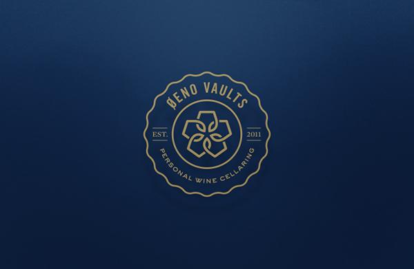 ワイン貯蔵サービスのロゴデザイン2