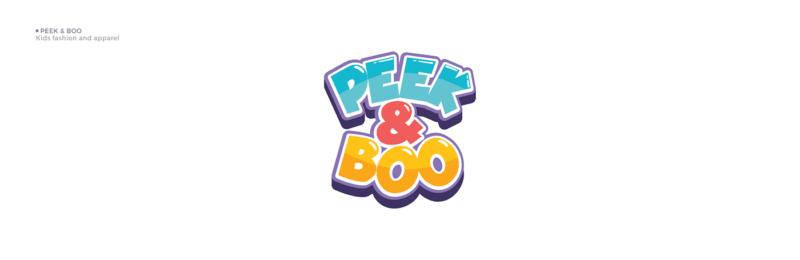 子供服ブランドのロゴデザイン