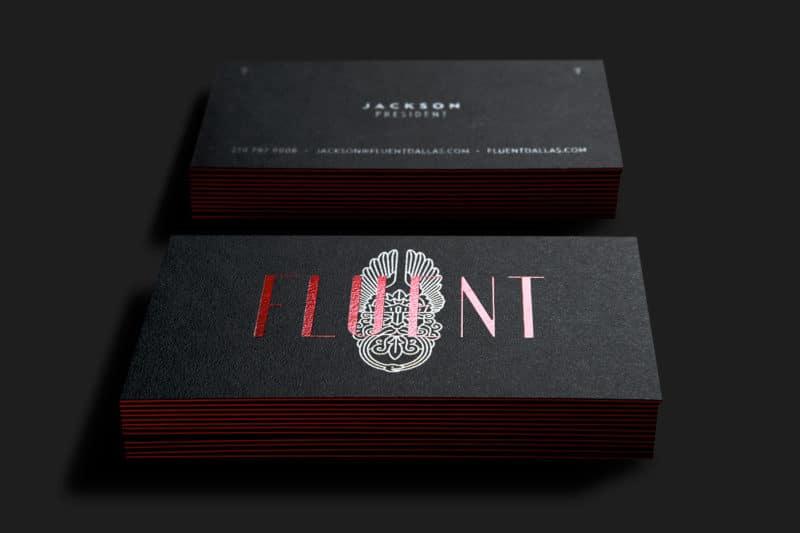 ブランドカードデザイン