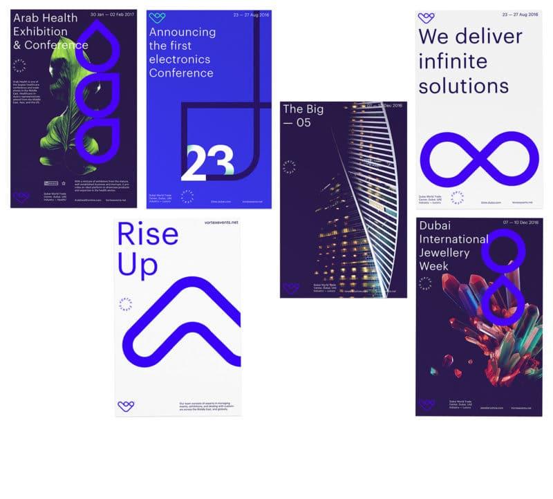 企業のポスターデザイン作成例