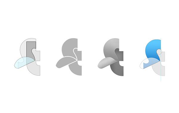 理念を表現した企業ロゴ制作例