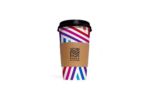 ブランドのカップのデザイン