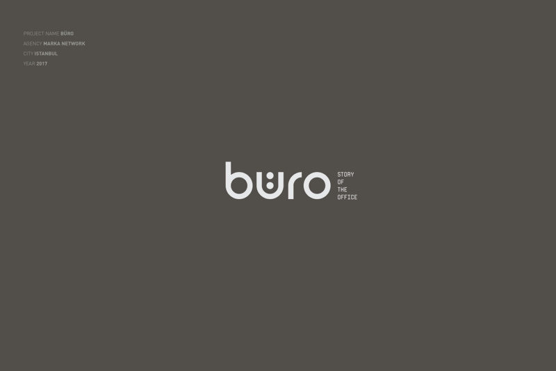 オフィスを表現したロゴデザイン