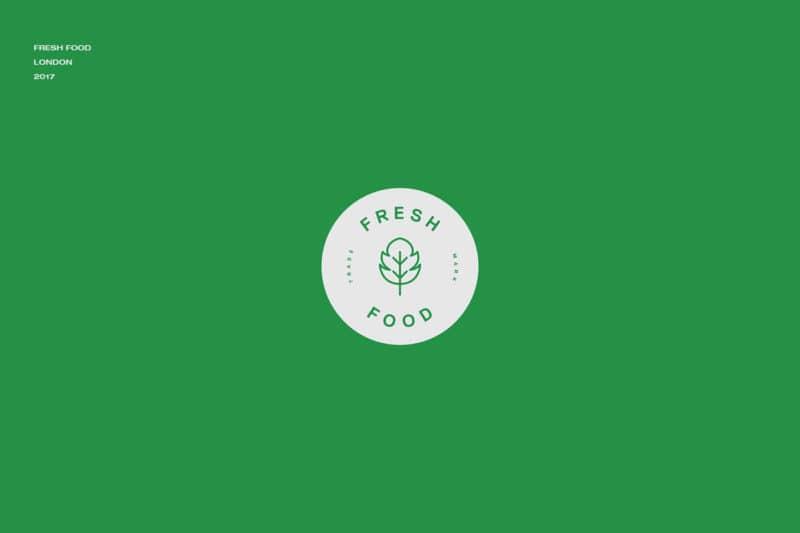 グリーンなロゴデザイン
