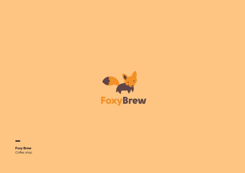 狐のロゴデザイン