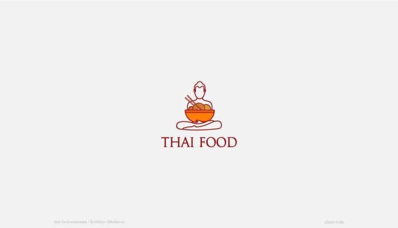 タイのレストランのロゴ