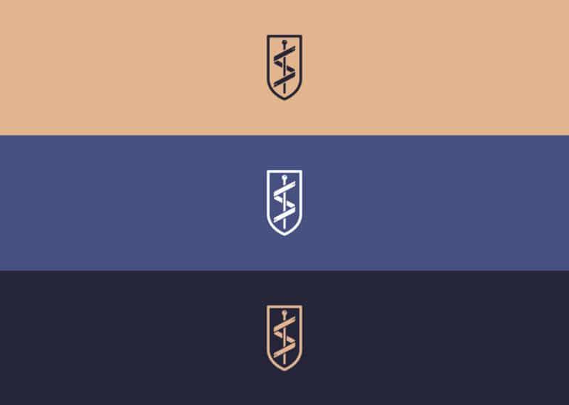 製薬会社ロゴのベースカラー