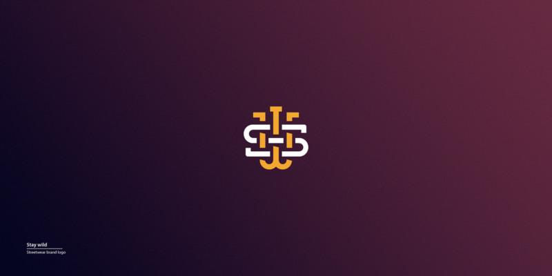 モノグラムのブランドロゴ