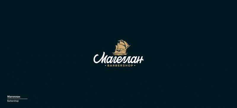 バーバーショップのロゴ