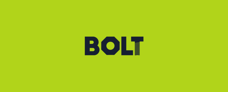 ボルトのロゴデザイン
