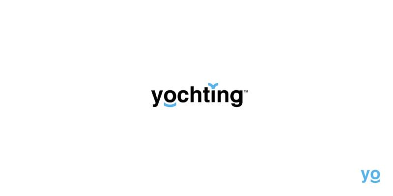 ヨットをレンタルできるサービスのロゴデザイン