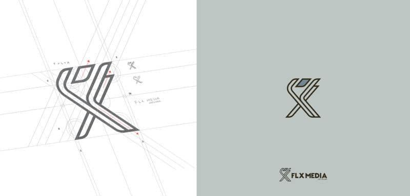ネットワークサービスのロゴデザイン