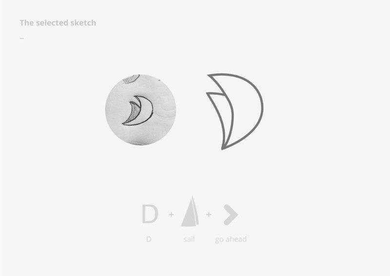 ロゴデザインのスケッチ2